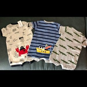 Baby Boy 3-6 Month Carter's One Piece Bundle